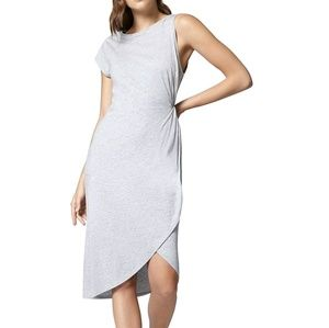 Sanctuary Salma Asymmetric Casual Midi Dress